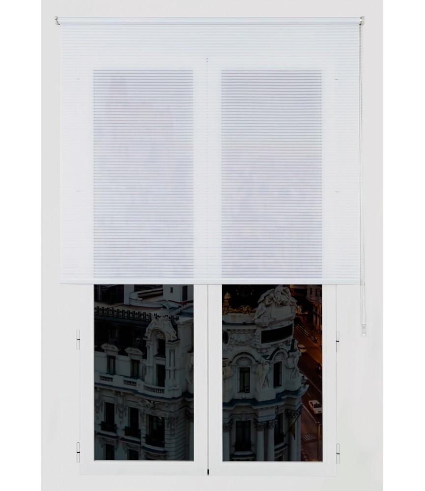 Silla estilo moderno tapiz polipiel y metal color blanco for Sillas estilo moderno