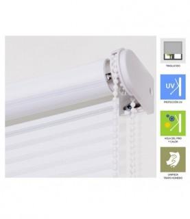 Silla estilo moderno tapizado polipiel color blanco 44 x for Sillas estilo moderno